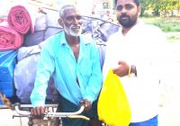 Past 50 years Transporting Goods on a Three-wheeled Rickshaw – Venkateswarlu