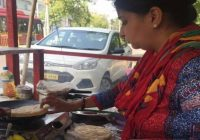 Gurgaon school teacher opens chole kulchha-chana food stall to support family