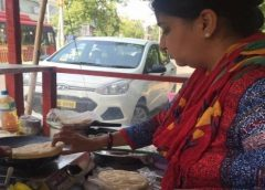 Gurgaon school teacher opens chole kulchha-chana food stall to support family