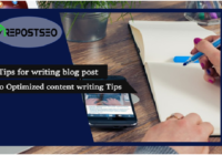 5 Tips for writing blog post