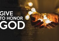 Honor God – Mentally, Physically And Financially