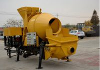 Different Kinds of Concrete Mixer Pumps Used in Construction