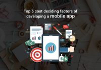Top 5 cost deciding factors of developing a mobile app