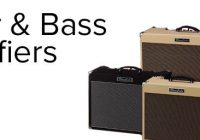 What are the Best Brands of Guitar Amplifiers?